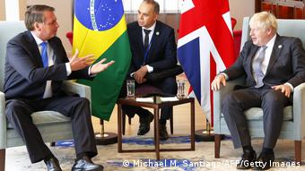 Jair Bolsonaro und Boris Johnson