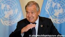 United Nations Generalsekretär Antonio Guterres