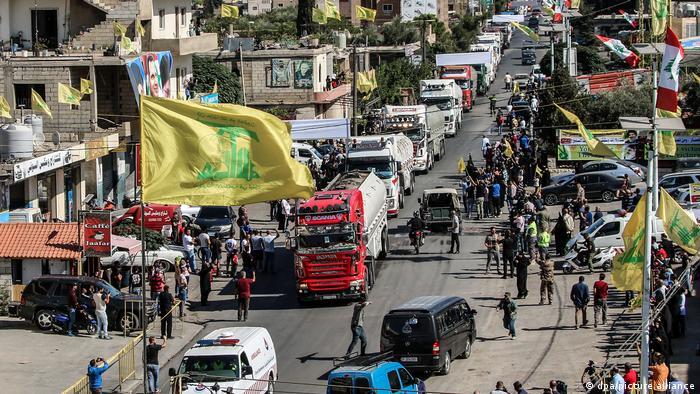 Libanin al-Ain   Iranische Kraftstofflieferung
