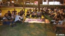 20.09.2021 Protest von Studenten gegen die hohen Mieten und Mangel an Wohnräume.
