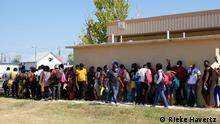 Zehntausende Flüchtlinge aus Haiti sind in der US-Grenzstadt Del Rio angekommen