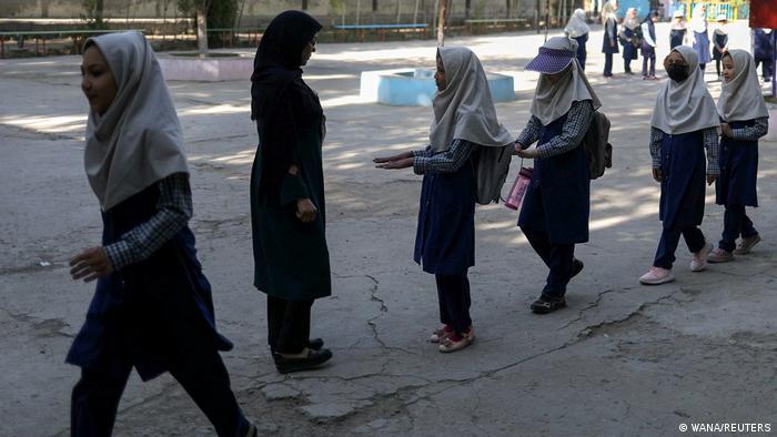 Afghanistan Kabul | Mädchen in der Schule