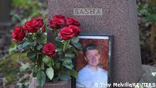 Grab von ex-KGB Agent Alexander Litvinenko in London