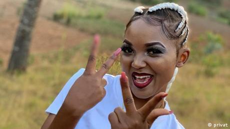 Ines Raquel Musikerin Burundi