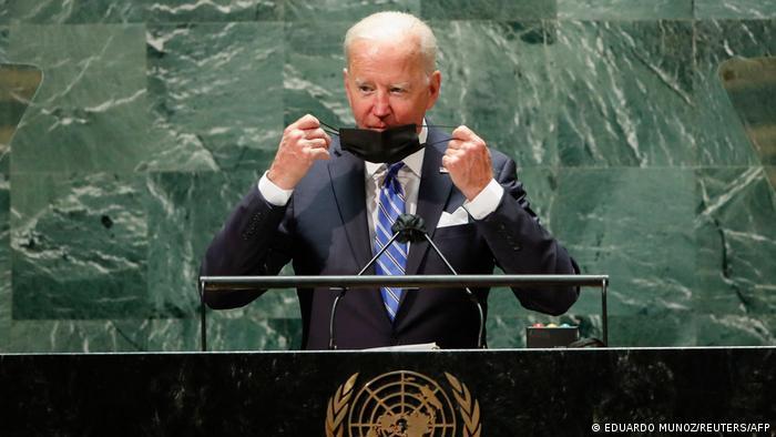 New York UN Vollversammlung   Rede Präsident Joe Biden