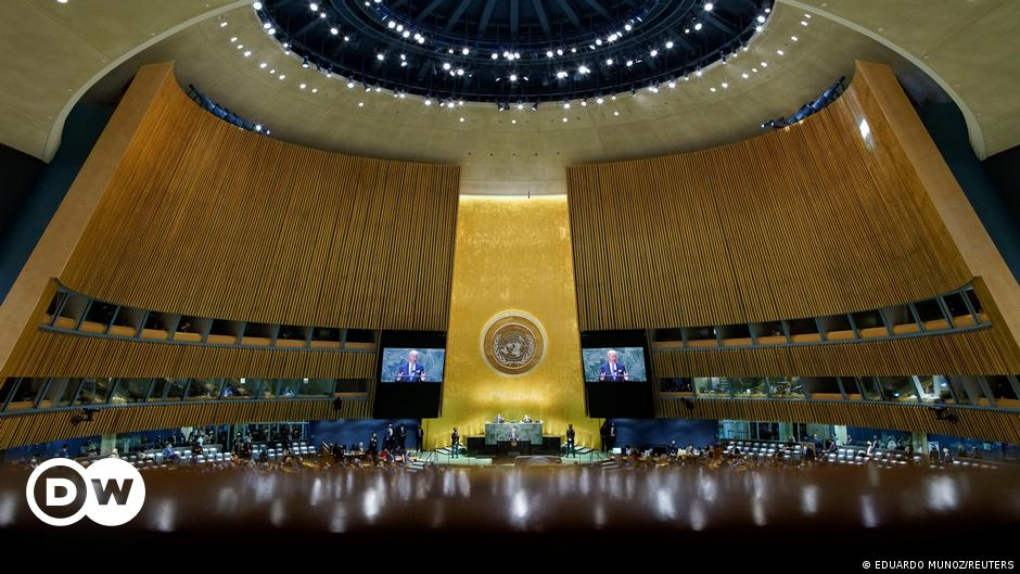 Image UN General Assembly: 'The world must wake up' – as it happened