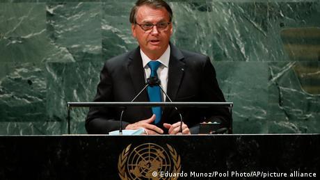 Jair Bolsonaro en la ONU.