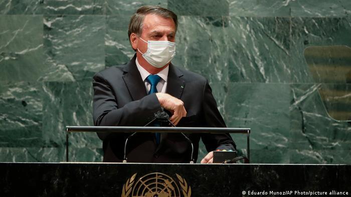 UN Vollversammlung in New York | Jair Bolsonaro
