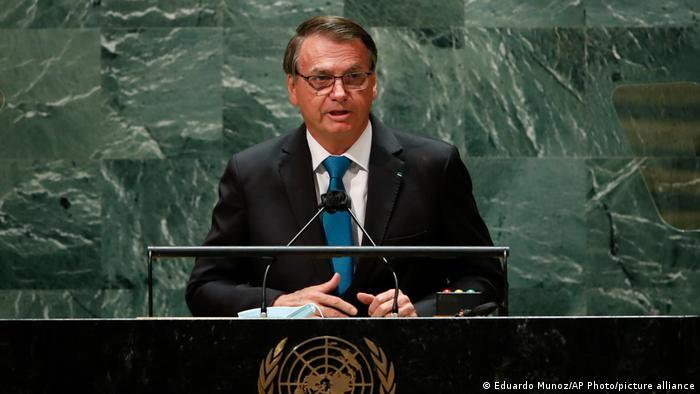 Jair Bolsonaro discursa na ONU, em Nova York