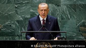 UN Vollversammlung in New York   Recep Tayyip Erdogan