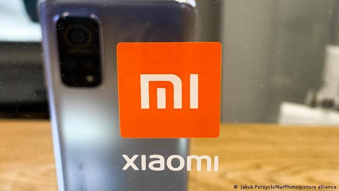 Ein Smartphone des chinesischen Herstellers Xiaomi