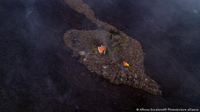 Spanien Vulkanausbruch La Palma