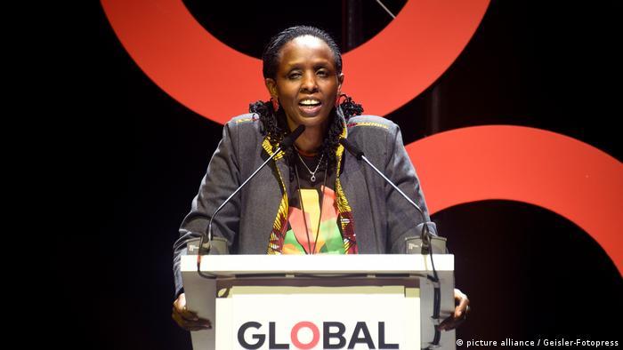 La Enviada Especial de la Cumbre, Agnes Kalibata.