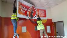 Angola's unofficial electoral registration