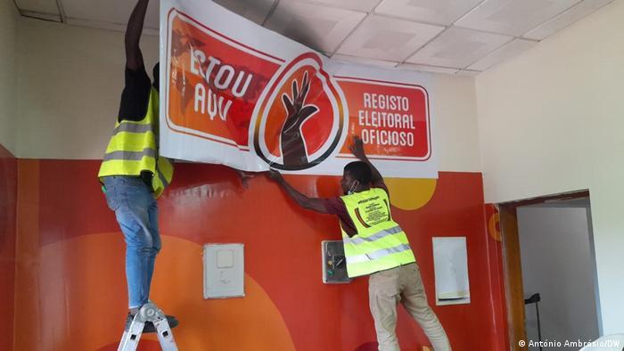 Angola | Wahlen | Registrierung
