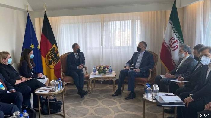 دیدار وزیران خارجه آلمان و جمهوری اسلامی در حاشیه اجلاس مجمع عمومی سازمان ملل