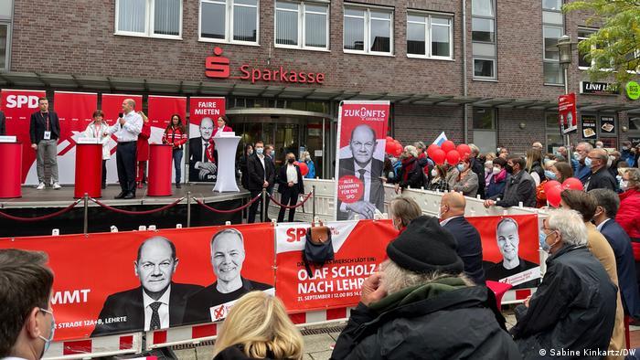 Niedersachsen | Wahkampftour der SPD mit Olaf Scholz