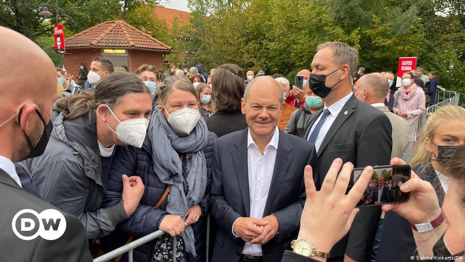"""""""Niemand muss sich fürchten"""": Olaf Scholz verbreitet Zuversicht"""