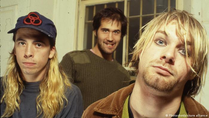 Nirvana   Dave Grohl   Kris Novoselic   Kurt Cobain