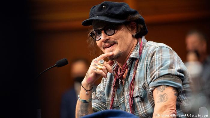 Spanien   69. San Sebastian Film Festival   Schauspieler Johnny Depp