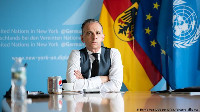 German Foreign Minister Heiko Maas at the UN in New York