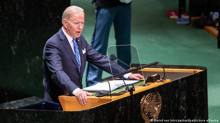 Preşedintele SUA Joe Biden la Adunarea Generală a ONU