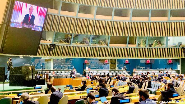 USA | Joko Widodo - Generalversammlung der Vereinten Nationen