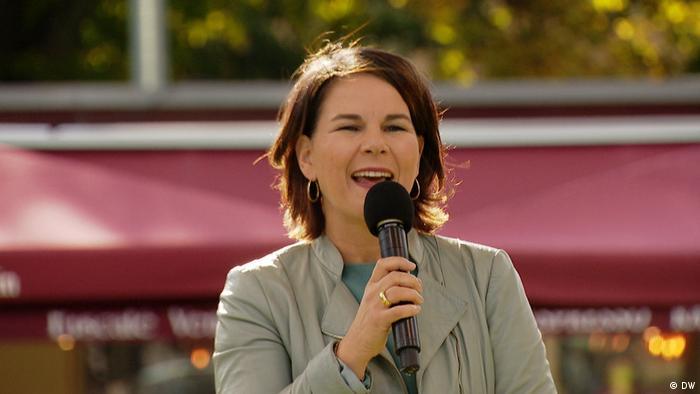 آنالنا بربوک، کاندید حزب سبزها