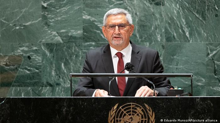 UN Generalversammlung Jorge Carlos de Almeida Fonseca Kap Verde