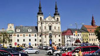 the historic center of Jihlava