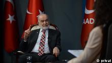 Temel Karamollaoğlu, Vorsitzender der Saadet Partei in der Türkei Copyright privat