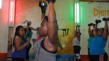 Flotat-Talon, Hugo (DW) Wo: Lome, Togo Thema: Togolese fitness coach fights obesity Keywords: Togo, Lome, fitness, obesity, health, weightloss, Datum: 28.07.21