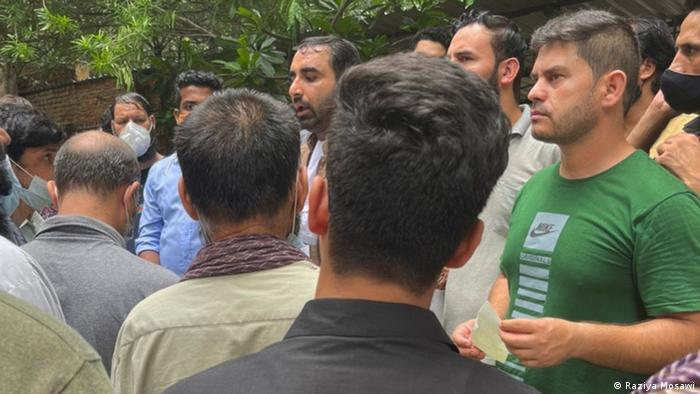 Indien Delhi | Afghanen in Indien gestrandet