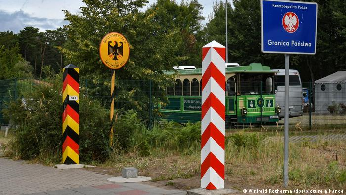 یکی از گذرگاههای مرزی میان لهستان و آلمان