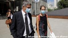 Custody trial at a family court in Tel Aviv