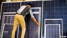 Eco India Sendung 23.09.2021 India, China, Morocco, Kenya, solar power, solar water pump, solar taxis, floating solar power plant