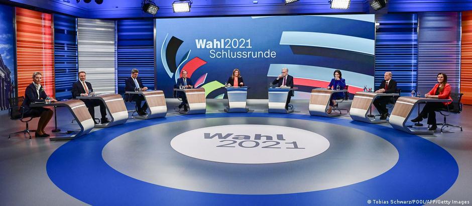ARD Schlussrunde I Wahlen 2021