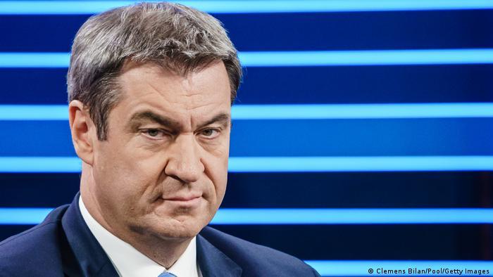 ARD dezbatere TV alegeri 2021 Markus Soeder