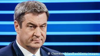 ARD Schlussrunde I Wahlen 2021 I Markus Soeder