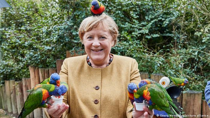 BdTD Deutschland Marlow | Angela Merkel | Besuch Vogelpark
