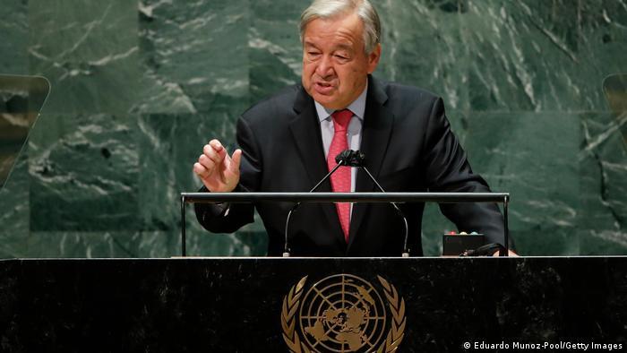 USA New York   UN-Jahresversammlung   Antonio Guterres