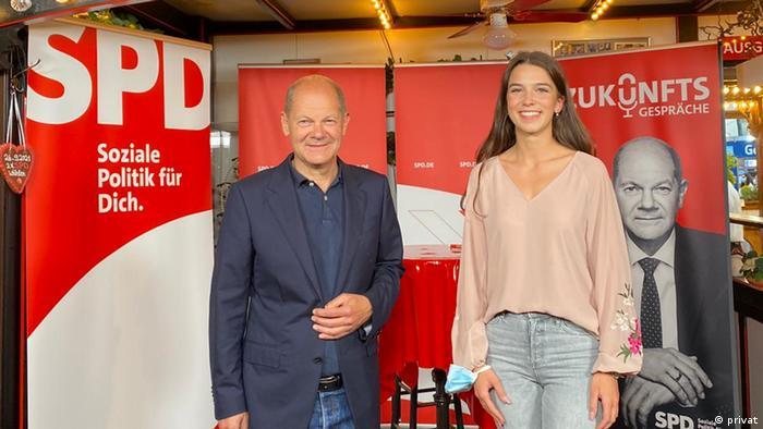 Dafina Berisha SPD Olaf Scholz