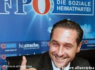 Ο πρόεδρος του Ελεύθερου Κόμματος Αυστρίας Χάιντς- Κρίστιαν Στράχε
