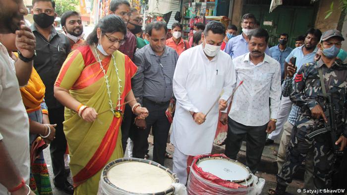 Indien | Kalkutta |Wahlkampf Mamata Banerjee
