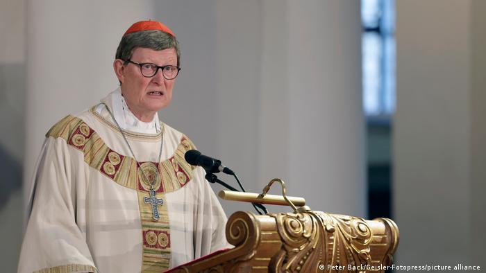Arcybiskup Kolonii kardynał Rainer Maria Woelki