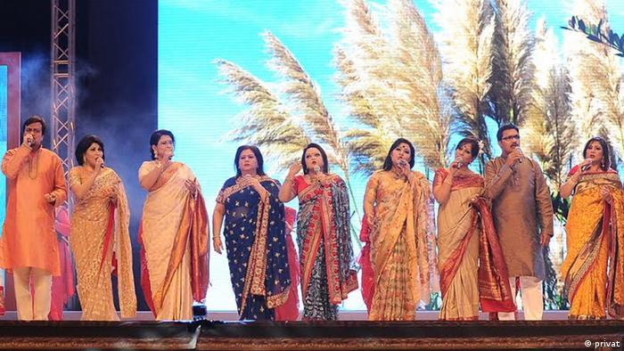 Bangladesch Musiker Gruppe