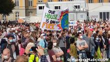 Fridays for Future Demo (24.09.2021 in Bonn). (c) Mateusz Madejski/DW