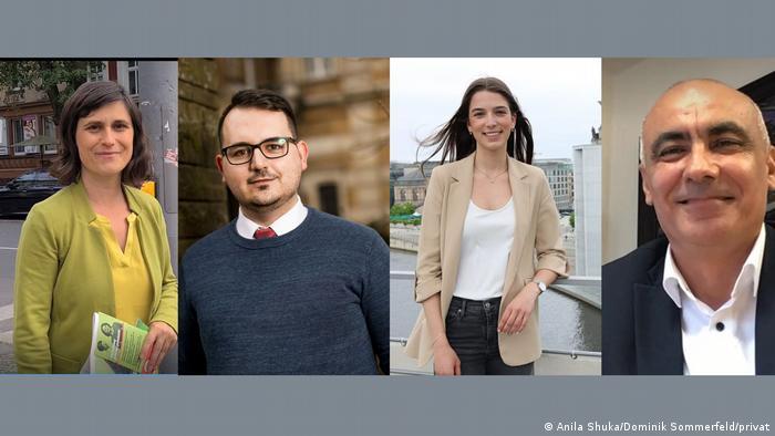BTW2021   Aferdita Suka, Kastriot Krasniqi, Dafina Berisha und Kolö Gjoka