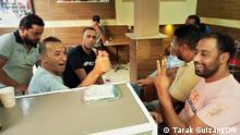 23/09/2021 political crisis in tunisia (c) Korri in Tunesien Tarak Guizani. Supporters Tunisian president