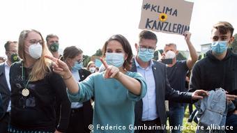 H Αναλένα Μπέρμποκ σε συγκέντρωση Fridays for Future στην Κολωνία